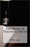 The Irony of Teaching Truth bookcover