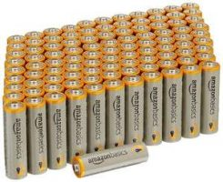 AA Alkaline Batteries Amazon Basics